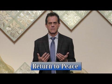 Return to Peace   Unity Spiritual Center Denver   12 10 17