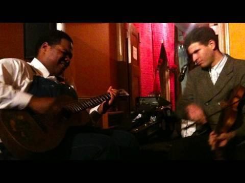 Nouveau Oldtime Jam: Blind Boy Paxton, Dom Flemons, Frank Fairfield (Boing Boing Video)