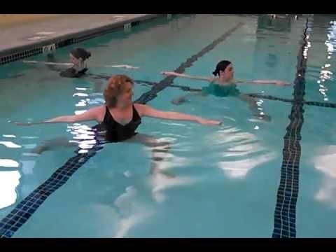 Kind Yoga School in the pool