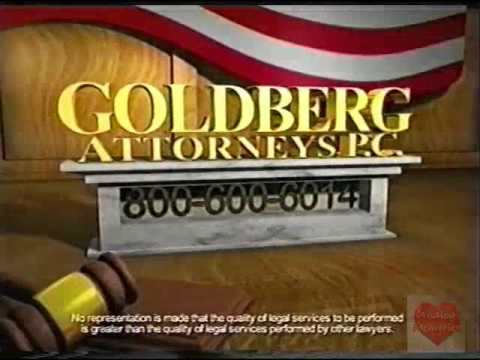 Goldberg Attorney PC | Television Commercial | 2009 | Huntsville Alabama