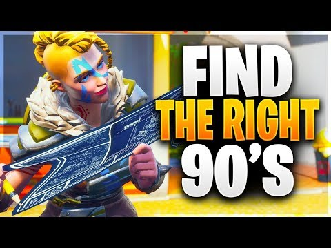 HOW TO FIND THE RIGHT 90'S FOR YOU! 5 Different 90's From Beginner to Pro! (Fortnite Battle Royale)