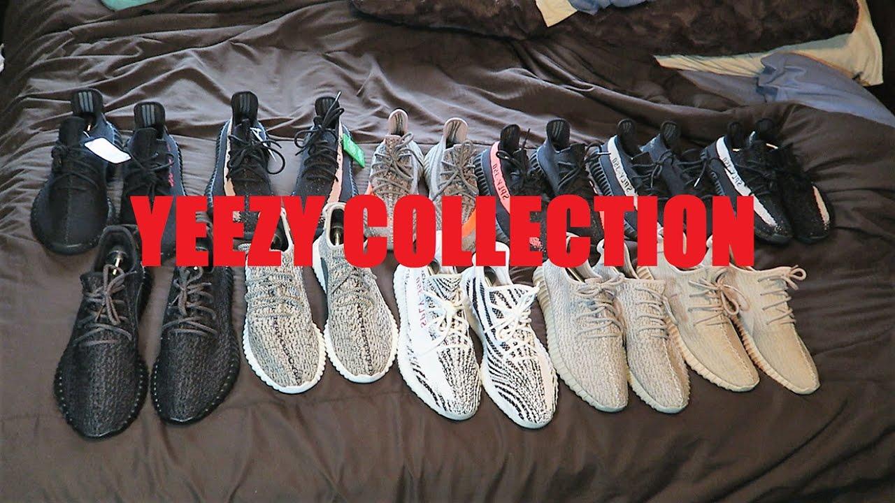 733c2e8e4 My Yeezy 350 Collection - YouTube