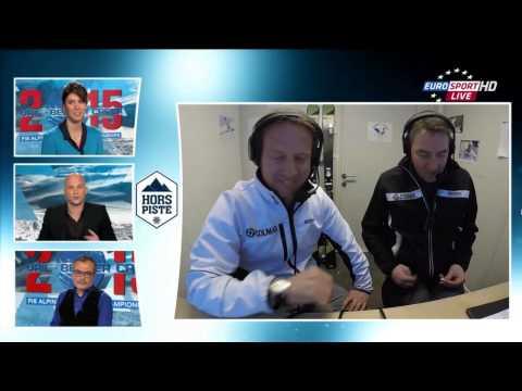 Slalom Marcel Hirscher   Vail Beaver Creek 2015 FIS Alpine World Championship   Eurosport FR reactio