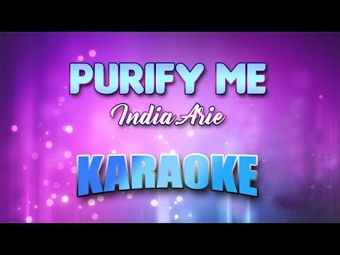 India.Arie - Purify Me (Karaoke version with Lyrics)