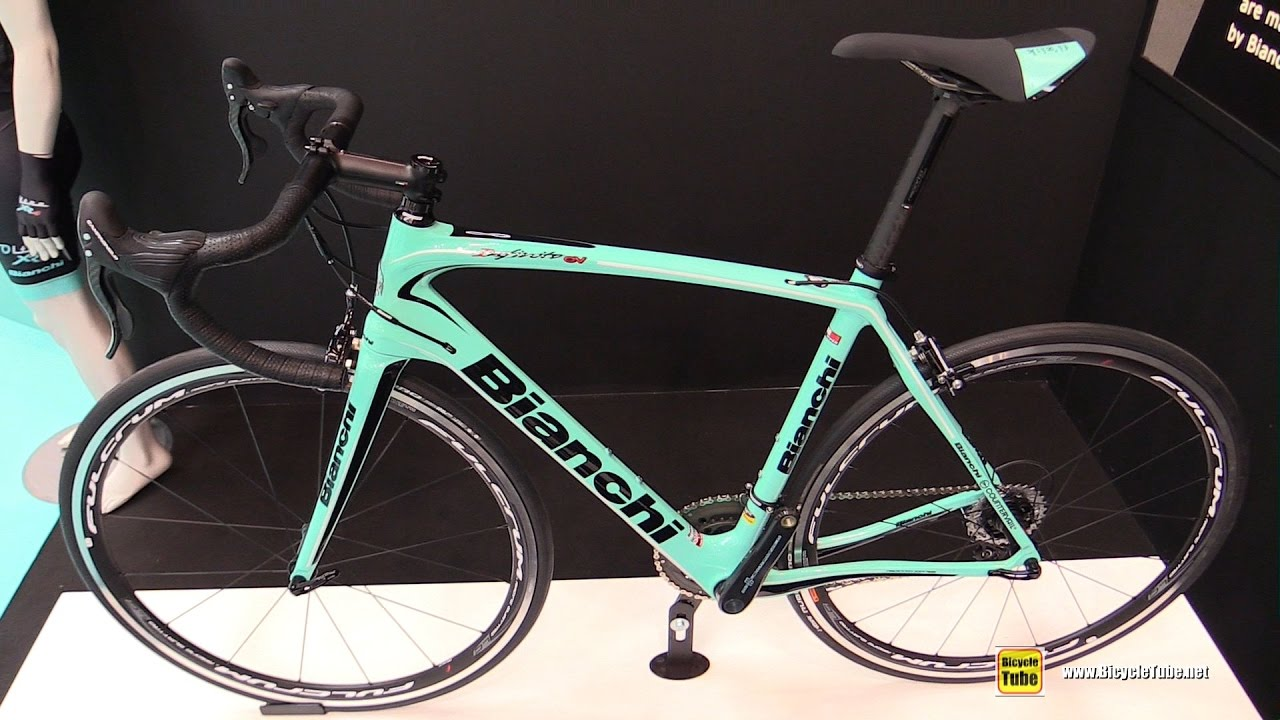 2017 bianchi infinito cv road bike - walkaround