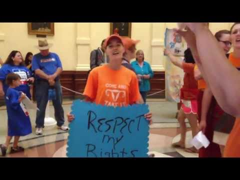 Protesters Fill Capitol Rotunda with Song