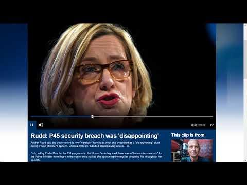 Eddie Mair vs Amber Rudd P45 & Security CPC17 04 10 17