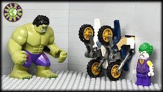 Lego Hulk Car Robbery