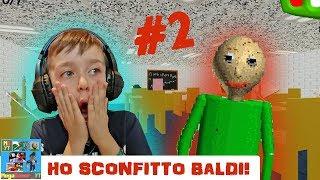 ROBLOX - HO SCONFITTO BALDI!!! MegaGamer_YT #002