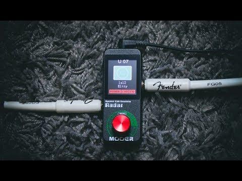 Mooer Radar | Guitar Cab Simulator | Review/Demo