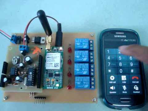 Project Arduino DTMF Switch