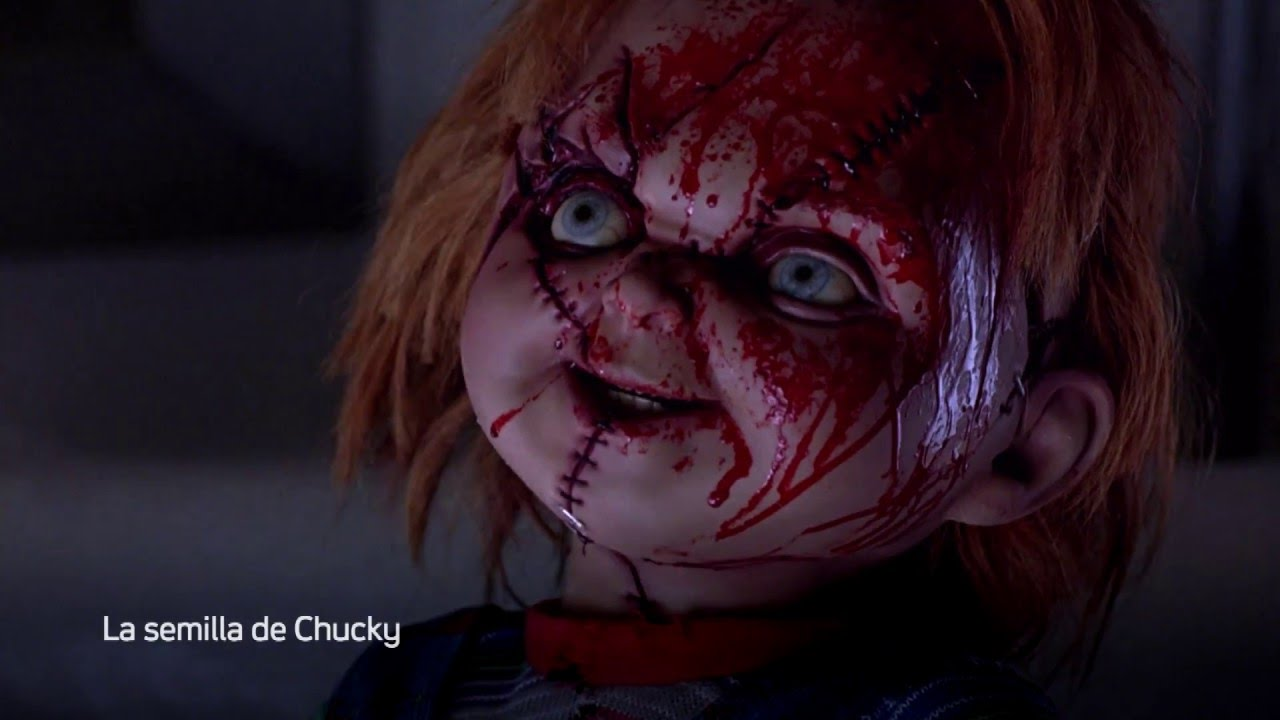 Chucky and his bride sculpted cake