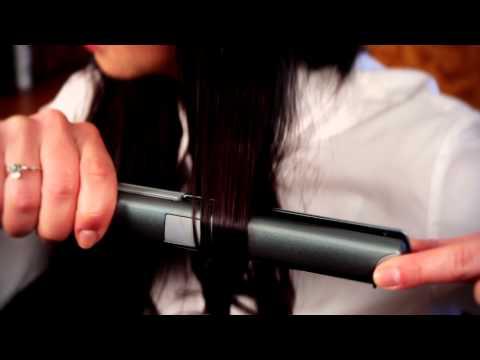 Как накрутить волосы на утюжок для выпрямления волос видео