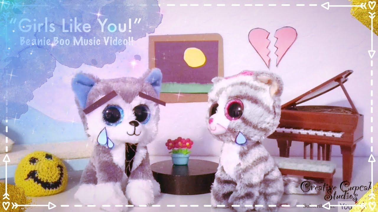 """058cfbf2642 Girls Like You!"""" ~ Beanie Boo Music Video!! - YouTube"""