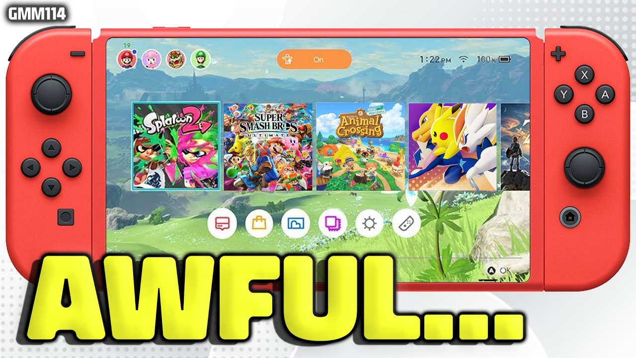 Nintendo Switch AWFUL UPDATE of Games Just Happened...