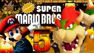 Let's Play Cannon Super Mario Bros. Wii Part 5: Mario World Castle Reloaded [ENDE]