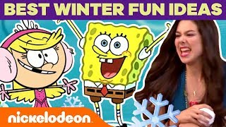 BEST Winter Fun Ideas ❄️ w/ The Loud House, Henry Danger & More! | Nick