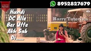 Nakhra Mutiyaar Da WhatsApp Stetus Vinner Dhillon ft. Nishawn Bhullar | New song