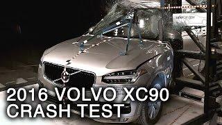 2016 Volvo XC90 Crash Test (Side Pole Crash)