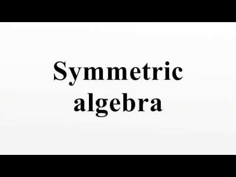 Symmetric algebra