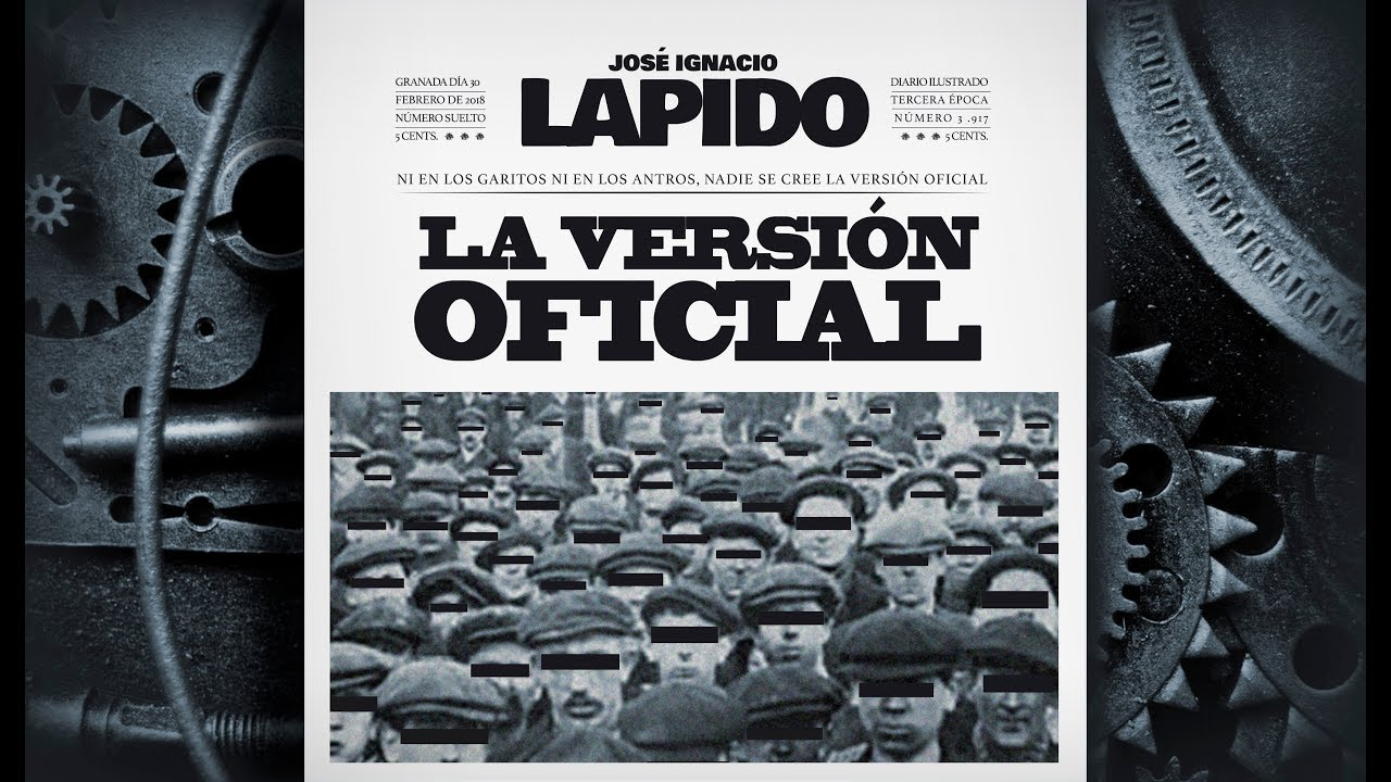 La versión oficial - José Ignacio Lapido (Lyric Video)