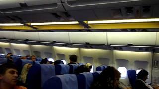 イラン航空『IR720便』フランクフルト発テヘラン行き機内(21.Aug.2010)