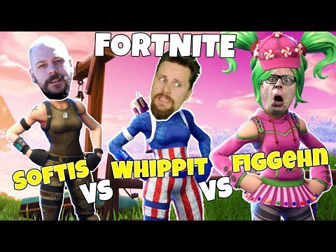 SOFTIS vs WHIPPIT vs FIGGEHN i FORTNITE *Playground*