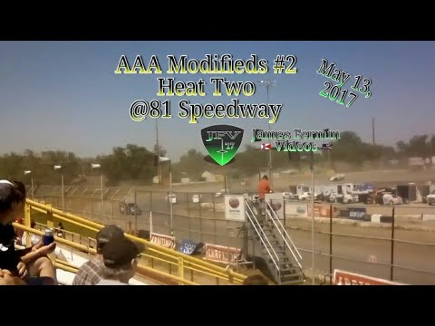 AAA Modifieds #2, Heat, 81 Speedway, 2017
