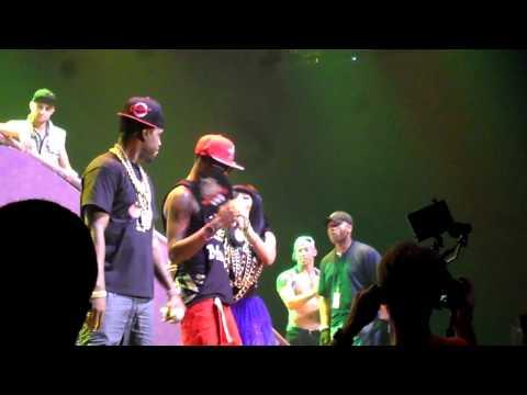Nicki Minaj at Bayou Music Center in Houston on 28 July 2012