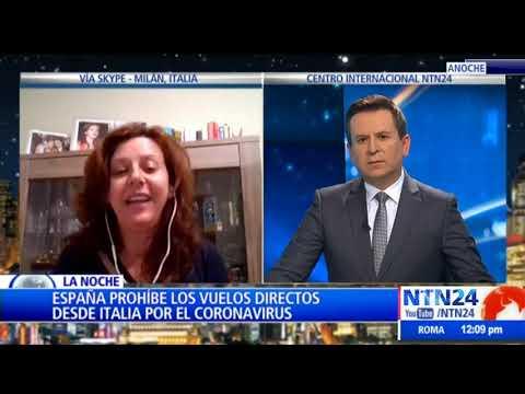 Coronavirus: el Gobierno analiza suspender los vuelos a Italia