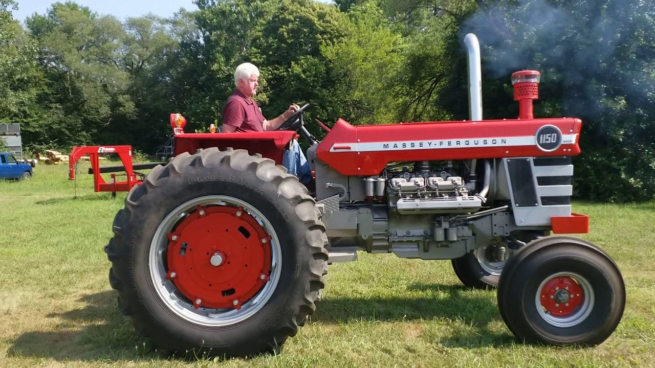 1972 Massey Ferguson 1150 2WD Tractor BigIron Auctions