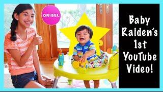 Baby Raiden's first YouTube video - Oribel play center