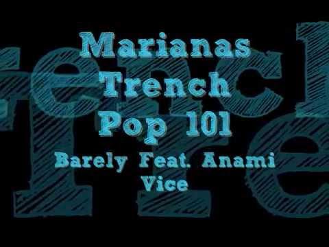 Marianas Trench Pop 101 Ft. Anami Vice (Lyrics)