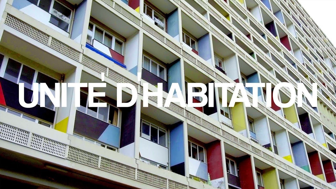 Le Corbusier Unite D Habitation unitÉ d´habitation i le corbusier i a walk through in 4k