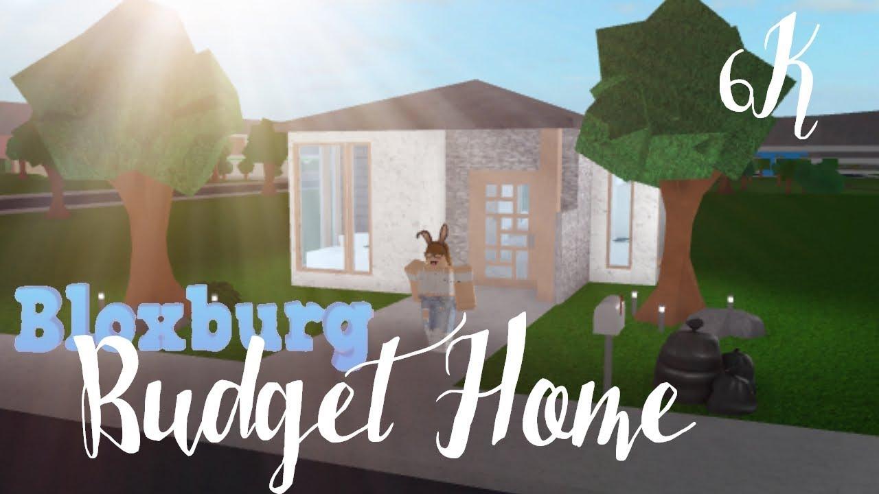 Bloxburg Cute Budget House 6k Youtube