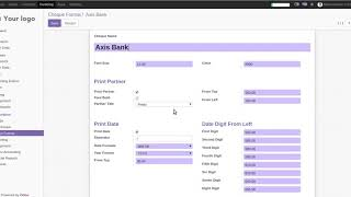 odoo dynamic print cheque | Print Check | check writing | Print bank format check odoo