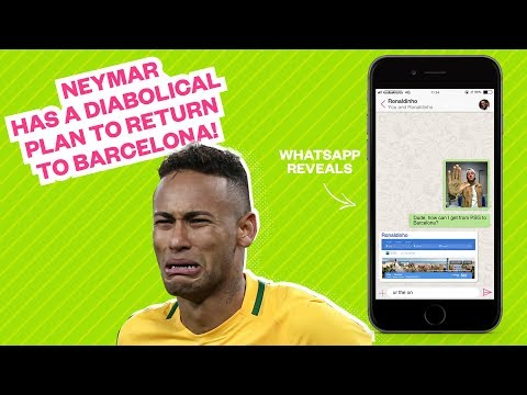 Neymar has a diabolical plan to return to Barcelona! - Oh My
