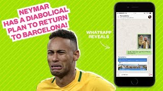 Neymar has a diabolical plan to return to Barcelona! - Oh My Goal