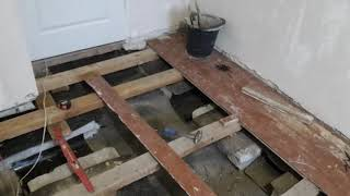 Ремонт старых деревянных полов часть 5