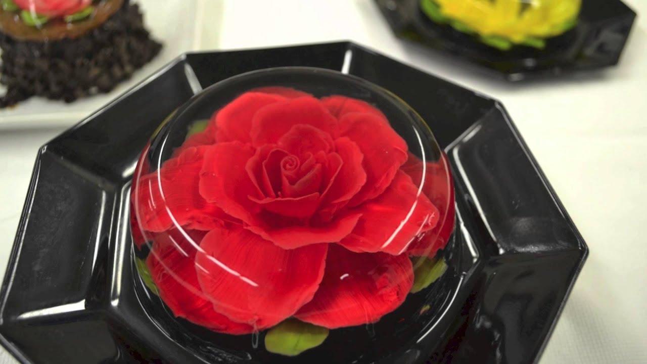 Jello Flower Introduction Youtube