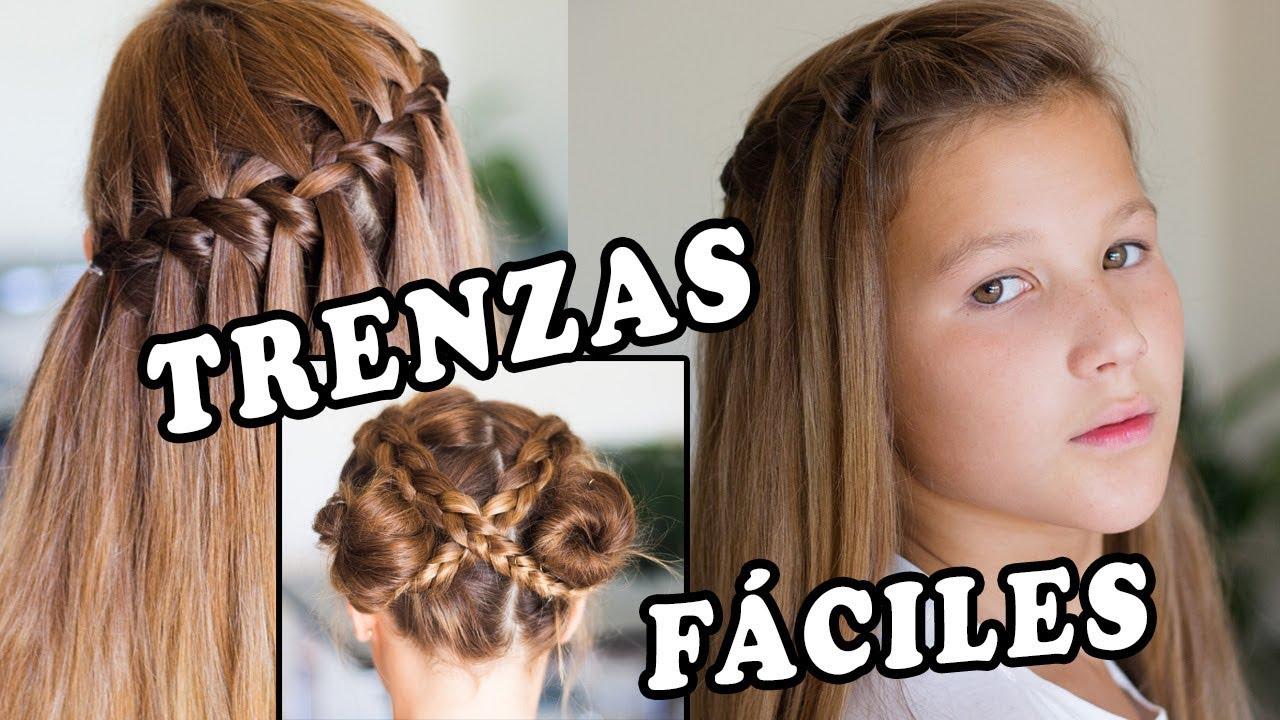 Peinados Paso A Paso Faciles Y Bonitos Para Escuela Peinados 2017