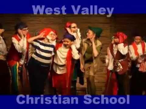 WVCS Peter Pan Cast 1, Private Christian School in West Hills, San Fernando Valley, CA