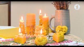 Свечи из натурального пчелиного воска / Доброе утро, Приднестровье!