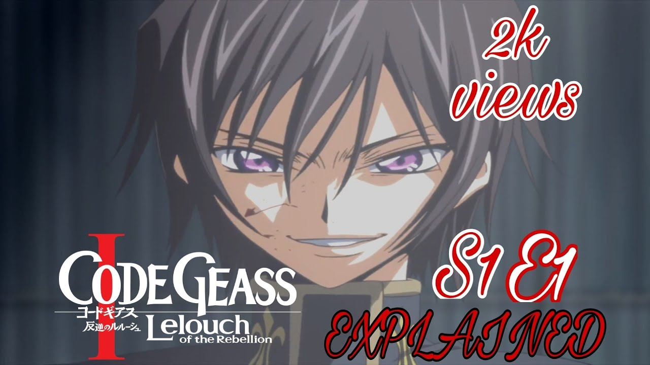 Download CODE GEASS EXPLAINED IN [HINDI] SEASON 1 EPISODE 1