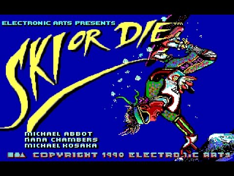 Ski or Die (PC/DOS) 1990, Electronic Arts