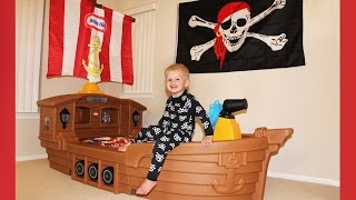 michaels new pirate ship bed