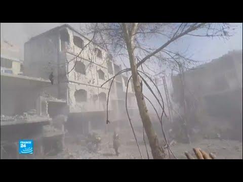استمرار القصف المدفعي والجوي المكثف على الغوطة الشرقية  - نشر قبل 2 ساعة