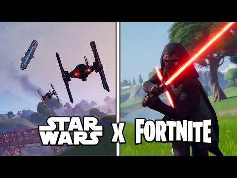 INCREIBLE EVENTO STAR WARS EN FORTNITE! Fortnite Battle Royale - Luzu