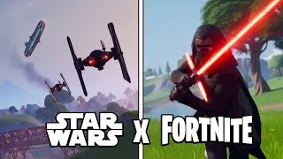 INCREIBLE EVENTO STAR WARS EN FORTNITE! Fortnite Battle Royale - Luzu