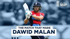 The Match That Made Dawid Malan 78 off 44 In First Ever Game England v South Africa T20 2017